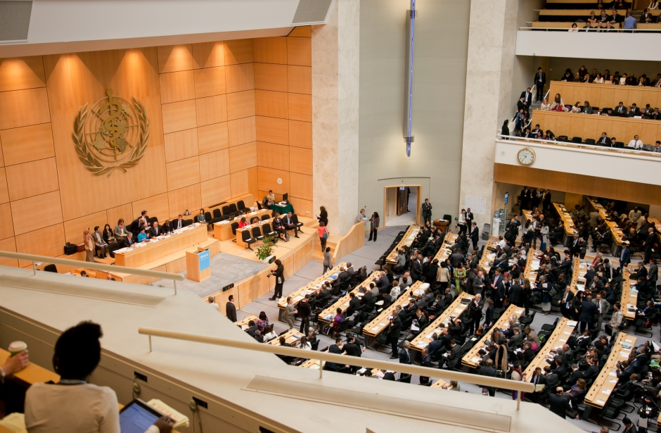 ©Trisa Taro. Inside the Assembly Hall on Day 1 of WHA66