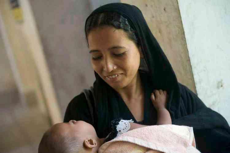 Health Complex, BhoirobMother and Child at UHC