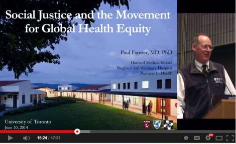 In conversation with Dr. Paul Farmer - June 10, 2014. Watch the full talk at Partners In Health Canada youtube channel.