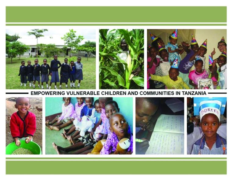 Photographer: Julie Caron Graphic Designer: Belinda Costa Compilation of photographs of CWEF Tanzania's sponsored children in Boma Ng'ombe Tanzania 2009-2013