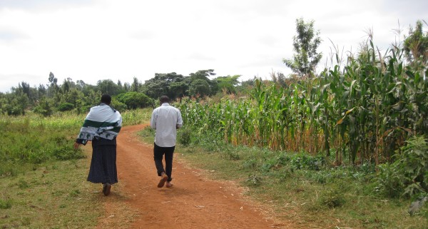 Rural roads in the villages outside Karatu